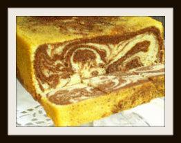 עוגת שיש עם גבינה ושוקולד