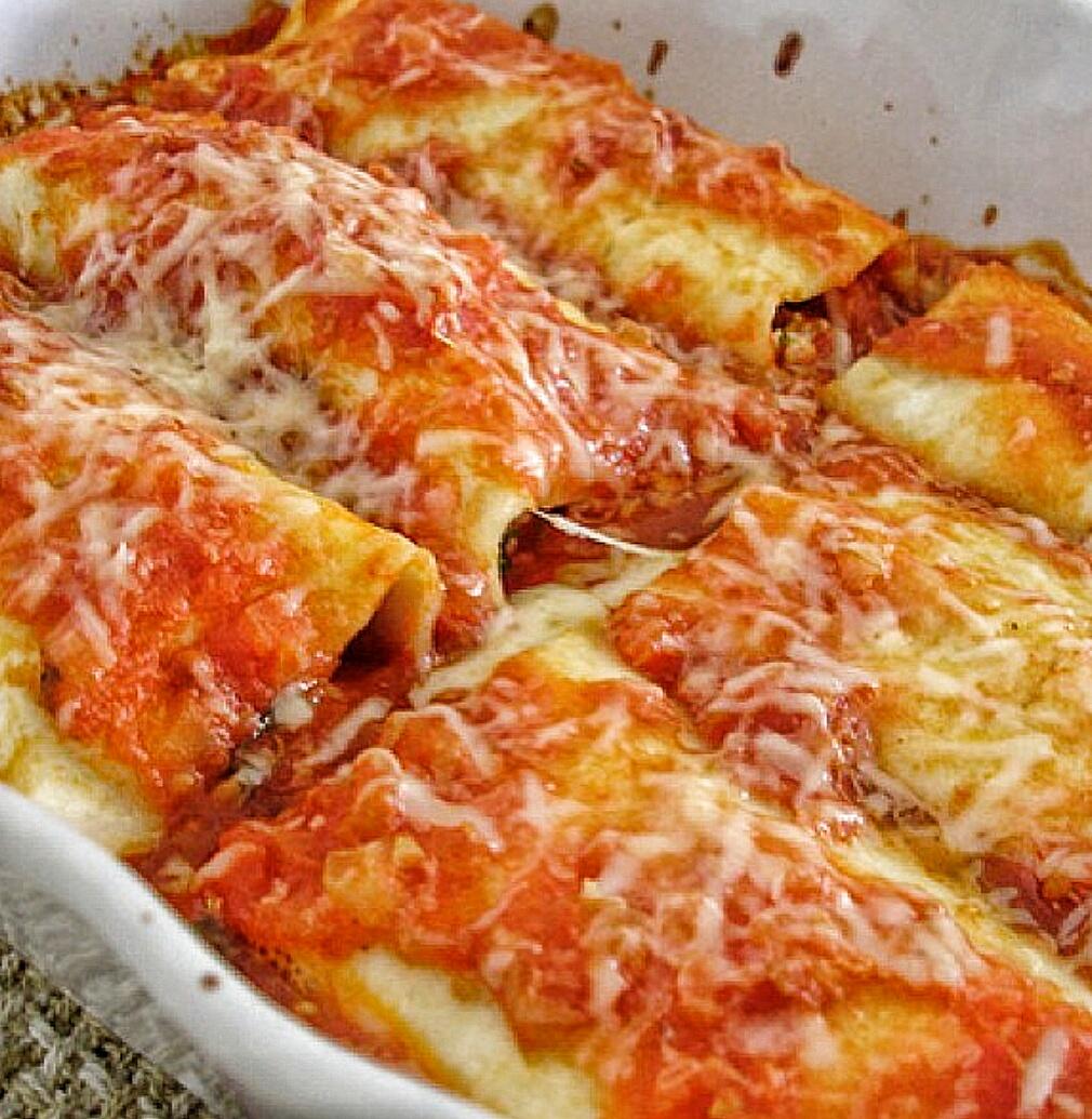 קנלוני במילוי גבינה