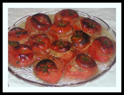 ירקות במילוי גבינה בולגרית