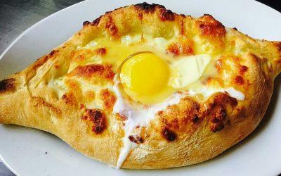חצ'פורי עם ביצה