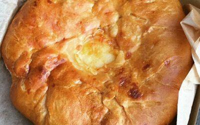 מאפה גבינת עיזים