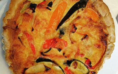 קיש אנטיפסטי בקרם גבינות